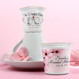 Personalized Wedding K-Cup Coffee Favors (Many Designs) image