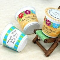 Personalized Beach Design K-Cup Coffee Favors (Many Designs)