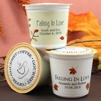 Personalized Fall K-Cup Coffee Favors (Many Designs)