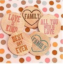 Inspirational Wooden Nickels (Set of 36) image