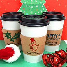 Holiday Insulated Cup Sleeves image