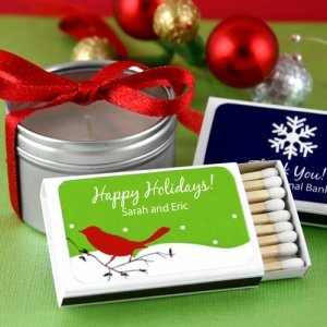 Personalized Holiday Matchboxes (Set of 50) image
