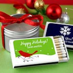 Personalized Holiday Matchboxes (Set of 50)