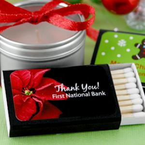 Holiday Matchboxes - Set of 50 (Black Box) image