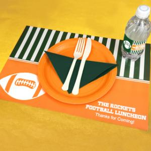 Personalized Placemats - Sports Themed image