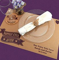 Personalized Kraft Placemats image