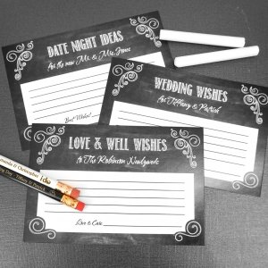 Chalkboard Advice Cards (Set of 25) image