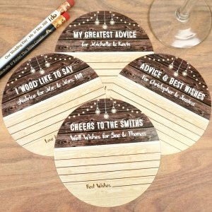 Woodgrain Advice Coasters image