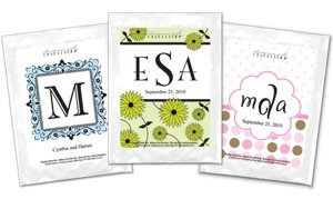 Monogrammed Lemonade Party Favors (30 Designs) image