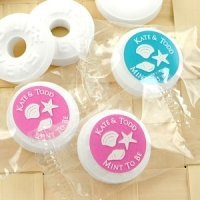 Beach Silhouette Life Savers Favor Mints