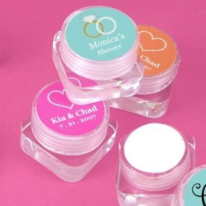 Personalized Wedding Hand Cream Favors image