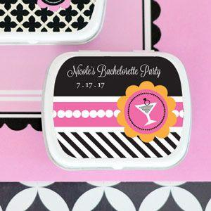 Bachelorette Party Personalized Mint Tins image