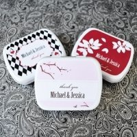 Elite Designs Personalized Wedding Mint Tin Favors