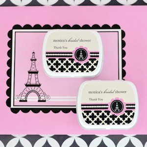 Personalized Mint Tins - Parisian Party image