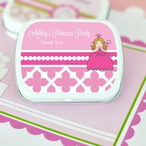 Princess Party Personalized Mint Tins image