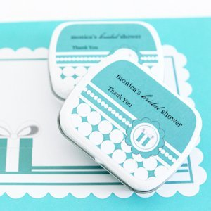 Personalized Mint Tins - Something Blue image
