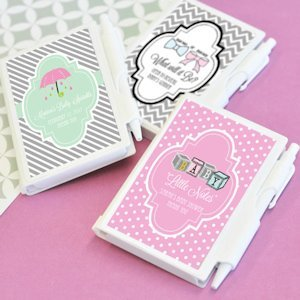 Personalized Little Notes Notebook Favors image