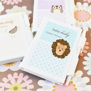 Baby Animals Personalized Notebook Favors image