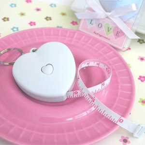 Heart Shaped Tape Measure Favors image