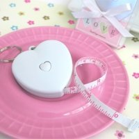 Heart Shaped Tape Measure Favors