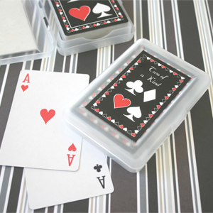 Two of a Kind Playing Card Wedding Favors image