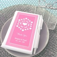 Snowy Notes Notebook Favors