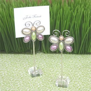 Fluttering Butterfly Place Card Holders (Set of 12) image