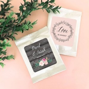 Personalized Floral Garden Hot Cocoa Favors image