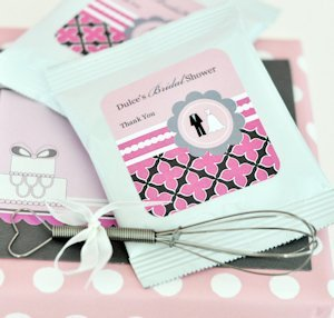 Personalized Bridal Hot Chocolate Party Favors image