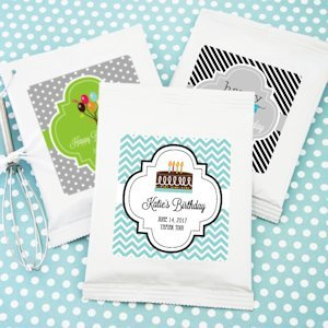 Personalized Birthday Lemonade Favors image