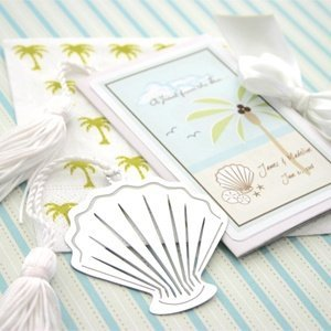 Ocean Breeze Seashell Bookmark Party Favors image