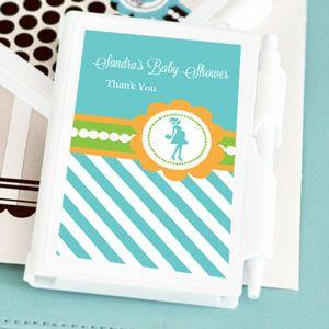 Going to Pop - Blue Personalized Notebook Favors image