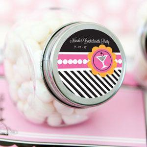 Bachelorette Party Personalized Candy Jars image