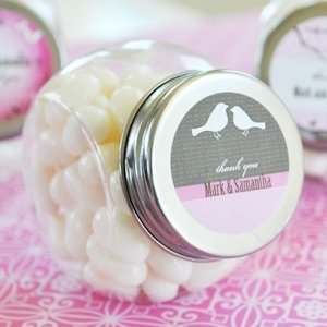 Personalized Wedding Candy Jars - Elite Designs image