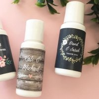 Personalized Floral Garden Sunscreen