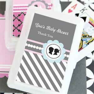 Gender Reveal Party Personalized Playing Cards image