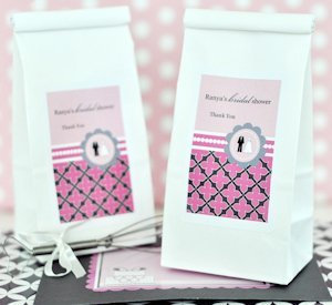 Personalized Muffin Mix Favors for Bridal Showers image
