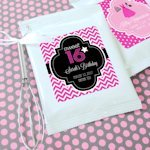 Sweet Sixteen (or 15) Personalized Hot Cocoa Favors