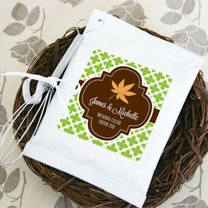 Fall for Love Personalized Hot Cocoa Favors image