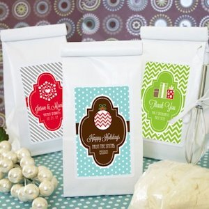 Winter Holiday Muffin Mix Favors image