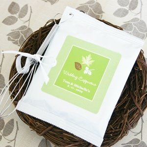 Fall for Love Personalized Cappuccino Favors image
