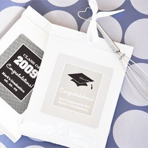 Personalized Graduation Cappuccino Favors image