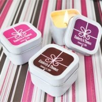 Gift Box Design Personalized Candle Tins