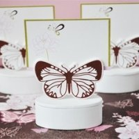 Butterfly Place Card Holder Favor Box (Set of 12)