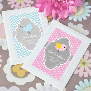 Baby in Bloom Personalized Seed Packet Favors image