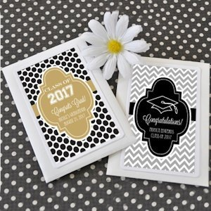Hats Off to You Personalized Graduation Seed Packets image