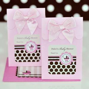 Sweet Shoppe Candy Boxes - Pink Baby (set of 12) image