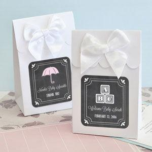 Sweet Shoppe Candy Boxes - Chalkboard Baby Shower (set of 12 image