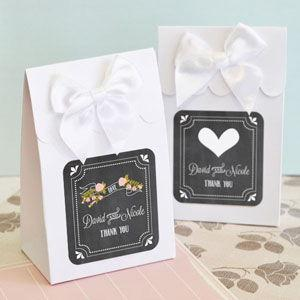 Sweet Shoppe Candy Boxes - Chalkboard Wedding (set of 12) image