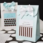Dots and Stripes Personalized Candy Boxes (Set of 12)